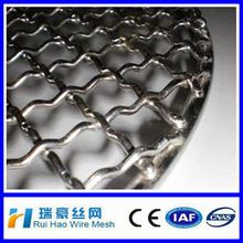 crimped wire mesh used as barbecue grill /,barbecue crimped wire mesh,galvanized barbecue wire mesh