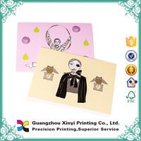 printing high quality custom design christmas greeting card wholesale