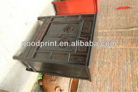 chinhese antique furniture black carved kitchen cabinet