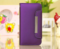 Leather Magnetic Flip Wallet Purse Case Cover Protector for iPhone 5C