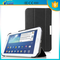 VCASE Hot fasthion Auto sleep wake up leather case cover for samsung galaxy tab 3 10.1 gt-p520