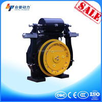 elevator gearless machine tractor parts