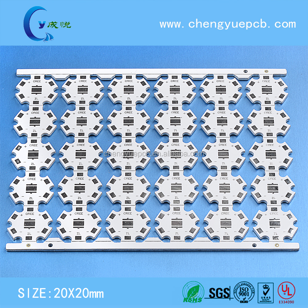China supply Cree led pcb assembly aluminum PCB factory