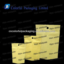 Different types of Kraft paper bags/Kraft brown paper foil bags with ziplock/Kraft paper bags wholesale India