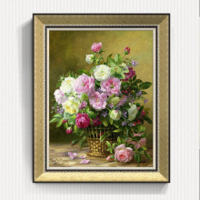 Mofang Frame Wall Picture for Restaurant Home Goods Wall Flowers Painting