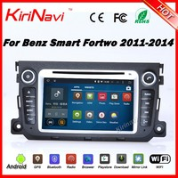 Kirinavi WC-MB7506 Android 5.1 car dvd for benz smart fortwo 2011-2014 car radio touch screen player wifi 3g bluetooth