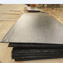 Hard wear resistant chromium carbide steel plate for heavy machine