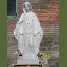 Professional Marble Virgin Mary Sculpture for Outdoor