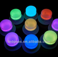 RGB rechargeable Waterproof led hanging lights color change