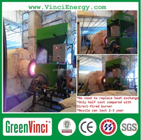 HOT SELLING ! industrial certificated steam boiler , oil or gas Italy burner For steam turbine on sale
