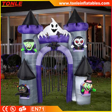 Haunted Archway Castle Halloween Air blown Inflatable/ inflatable archway entrance