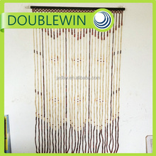 Custom bamboo beaded door curtain , bamboo curtain for door