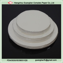 Custom FDA Approved Siliconised Parchment Paper Circles for Baking Bread