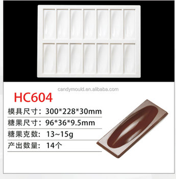 Professional Custom polycarbonate chocolate mold