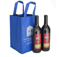 Durable stylish wine packaging non woven bags