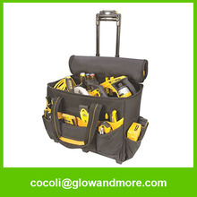 professional factory manufacturer Maintenance tool bag with wheels