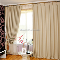 2015 latest design type of office window curtain, curtain for silding window