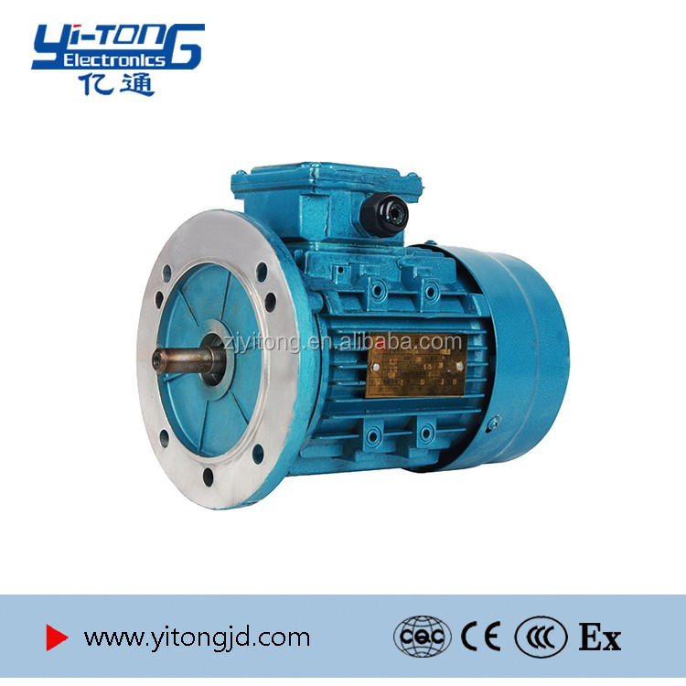 Variable Speed Three Phase 10kw Electric Induction Motor For Gearbox