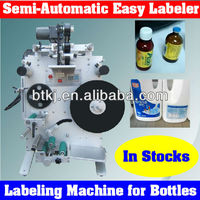 Easy Control Round Bottle Labelling Machine for Sale with Best Price,Portable Small Mini Size Bottle Label Shrink Wrap Machine