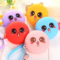 Bulk wholesale silicone coin purse change purse silicone purse