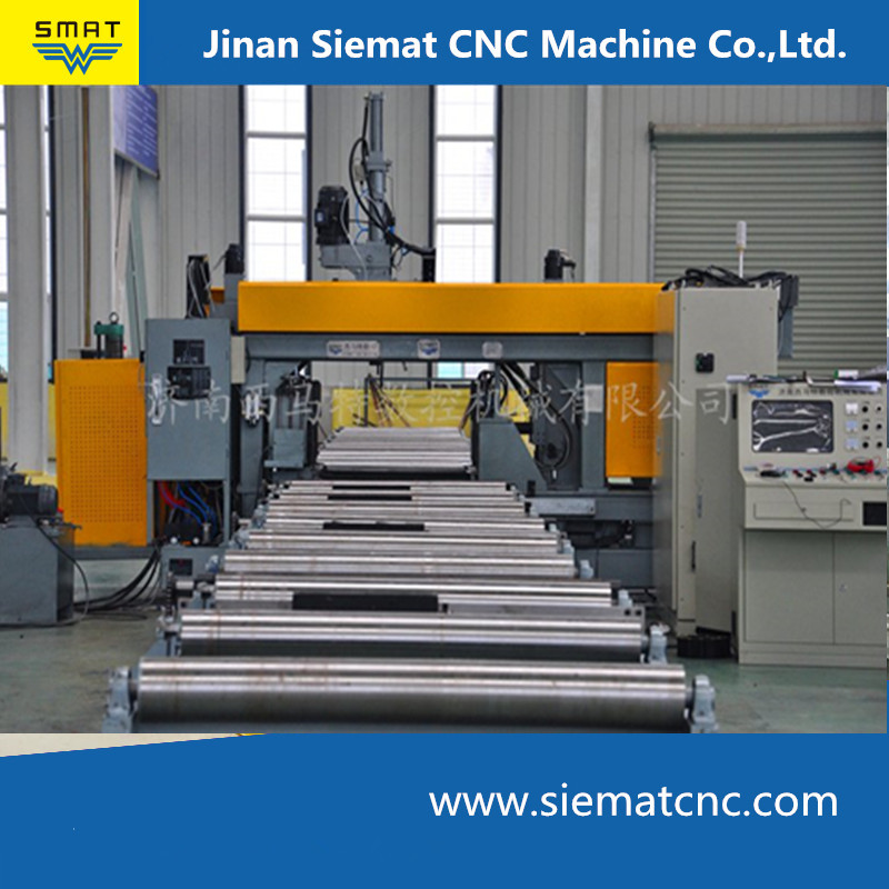 CNC 3D drilling machine for steel structure processing