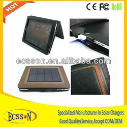 4500mAh Hotsale solar charger case for ipad