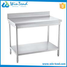 Modern Commercial Stainless Steel Worktable Kitchen Equipment