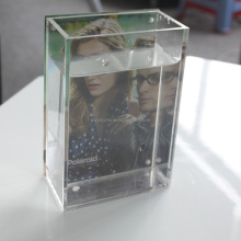 Hot Sale Handmade Acrylic Vase with Photo Frame