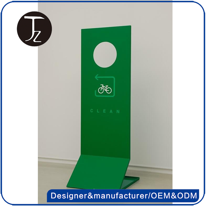 Customized indoor standing metal pylon sign advertising sign stand