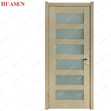 Teak wood UV color indoor swing mdf indian door
