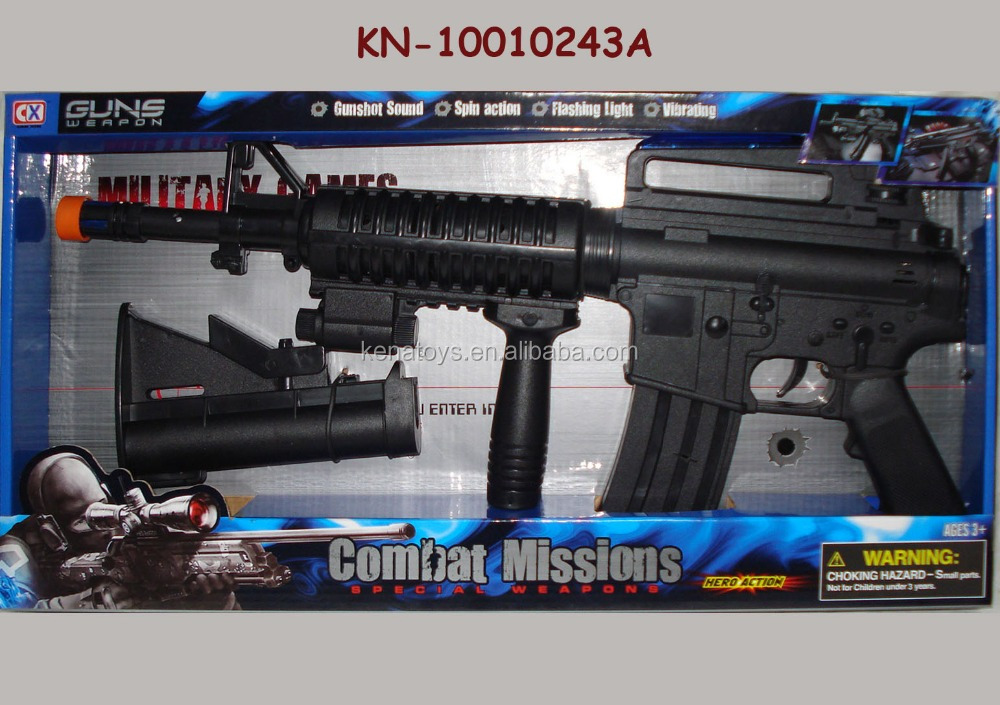 2017 Newest Kids combat mission game weapon toys gun toys