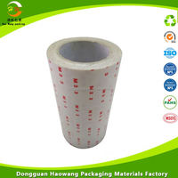strong adhesive double side tape of opp/pet