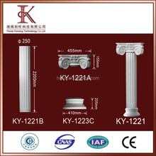 PU High Quality Polystyurethane Crown marble Columns for sale