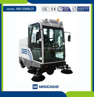 E800LD CE Water tank garbage collection equipment,price of cleaning roads machines