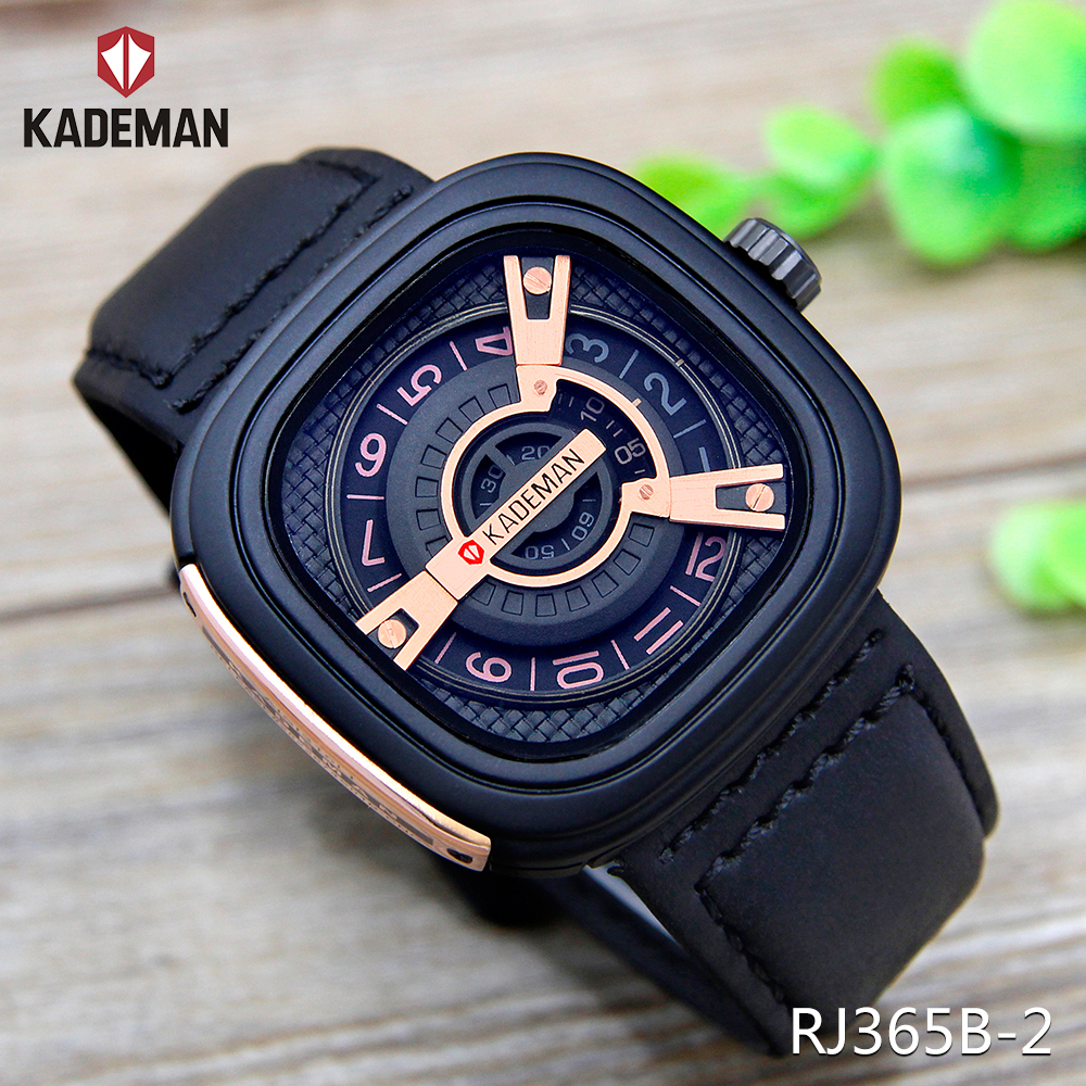 Kademan 24k gold plating dial advance watches men co RJ365B-2