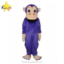 Funtoys CE Purple Orangutan Ape Monkey Cartoon Mascot Costumes