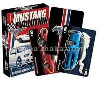 Mustang Evolution Playing Cards