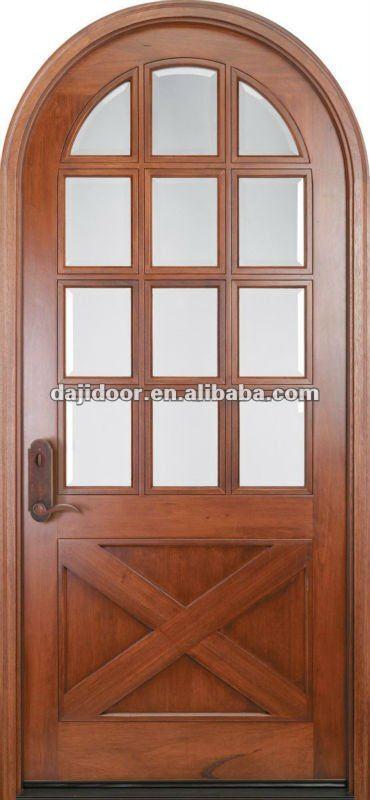 Amerikaanse ronde top tekening deuren ontwerp dj s5325 for Round door design
