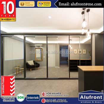 Good quality aluminium wardrobe door by China supplier