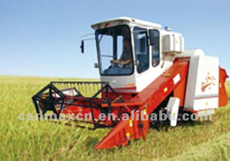 LOVOL mini crawler rice combine harvester