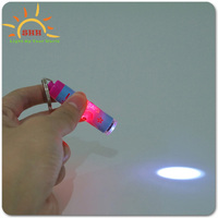 Lovely beautiful cute kids love led logo custom projector led flashing keychain for promotion gifts with factory price