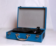 Auto electric three- speed turntable usb sd bluetooth vinyl record player
