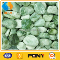 Green Jade Landscaping Tumbled Pebbles Stone