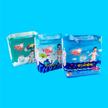 Private lable high quality A grade soft breathable disposable baby diaper manufacturer