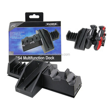 New Product Multifunctional Dock Cooling Cooler Fan Stand Controller USB Charger Dock Station Stand Holder For PS4 Console