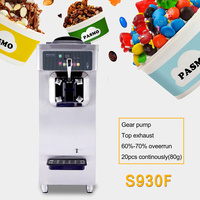 S930F CE ETL spring handle small size thailand fry ice cream machine
