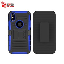 Custom protective tpu pc back cover case for iphone X case, oem tpu pc slim fit armor