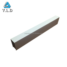 OEM ODM Custom White Powder Coating Aluminum Extruded Square Tubes For Medical Device Support