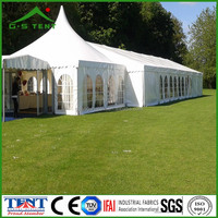 wedding party tarp clear span tent