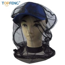 Mosquito Head Net,Lightweight Face Mesh Head Cover Insect Repellent Netting Fly Screen Protection for Camping,Hiking,Traveling,F